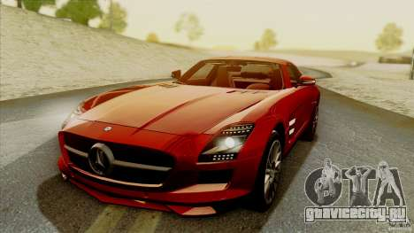 SA Beautiful Realistic Graphics 1.5 для GTA San Andreas одинадцатый скриншот