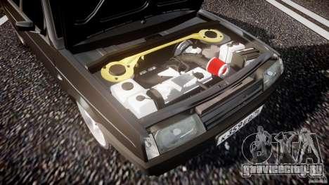 ВАЗ 2109 Lada для GTA 4 вид снизу