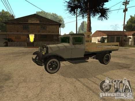 FORD AA для GTA San Andreas вид слева
