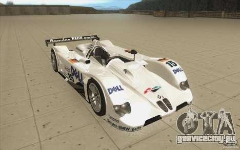 BMW V12 LeMans - Stock для GTA San Andreas вид сзади