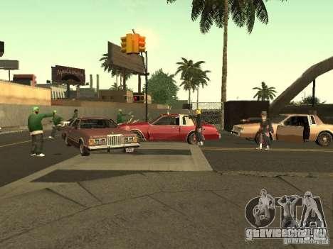 The Akatsuki gang для GTA San Andreas седьмой скриншот