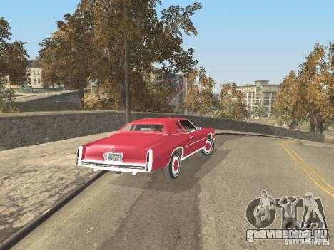 Cadillac Eldorado для GTA San Andreas вид изнутри