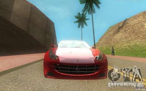 Ferrari FF для GTA San Andreas вид справа