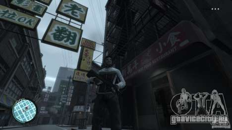 AUG-A3 для GTA 4 пятый скриншот