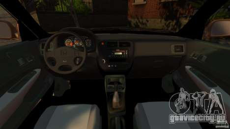 Honda Civic VTI для GTA 4 вид сзади