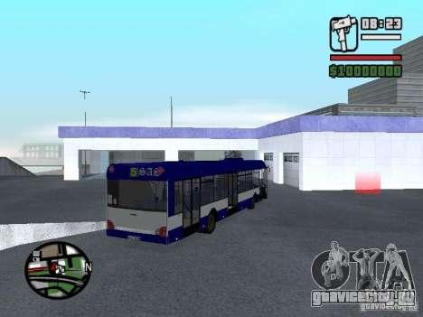 Solaris Urbino 12 для GTA San Andreas вид справа