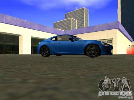 Toyota GT86 Limited для GTA San Andreas вид сзади