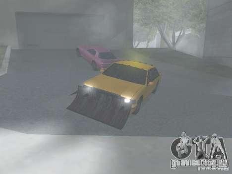 Зомби Такси для GTA San Andreas вид слева