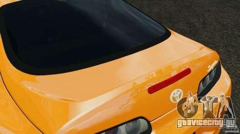 Toyota Supra Tuning для GTA 4 салон