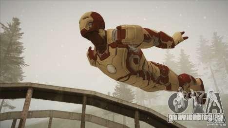 Iron Man Mark 42 для GTA San Andreas третий скриншот