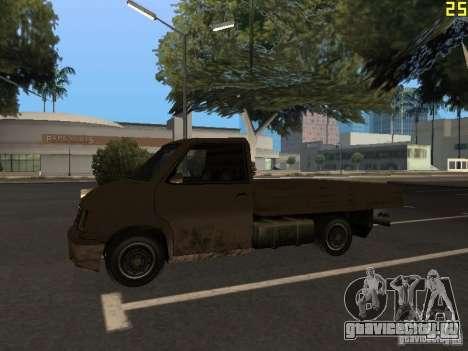 Moonbeam Пикап для GTA San Andreas вид сзади