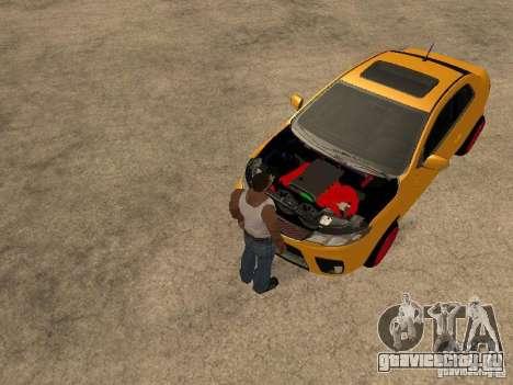 Kia Cerato Coupe JDM для GTA San Andreas вид справа