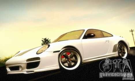 Porsche 911 Sport Classic для GTA San Andreas вид сзади