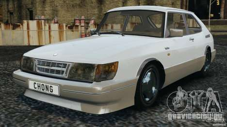 Saab 900 Coupe Turbo для GTA 4