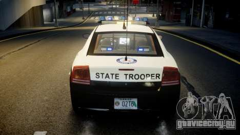 Dodge Charger Florida Highway Patrol [ELS] для GTA 4 вид снизу