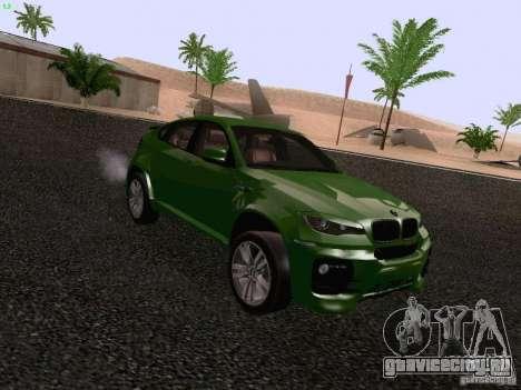 BMW X6 LT для GTA San Andreas вид справа