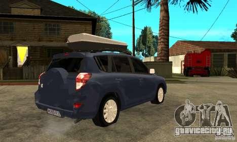 Toyota RAV4 V2 для GTA San Andreas вид справа