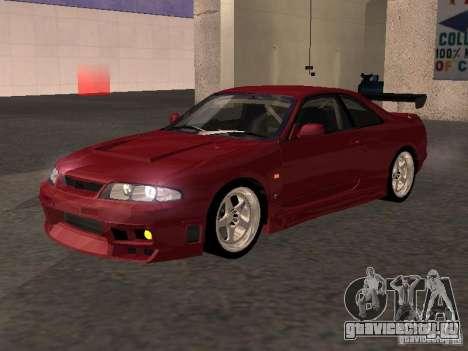 Nissan Skyline GT-R BCNR 33 для GTA San Andreas