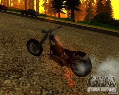 Hexer bike для GTA San Andreas вид сверху