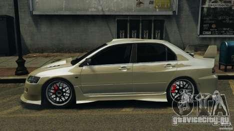 Mitsubishi Lancer Evolution VIII v1.0 для GTA 4 вид слева