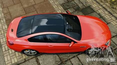 BMW M6 F13 2013 v1.0 для GTA 4 вид справа