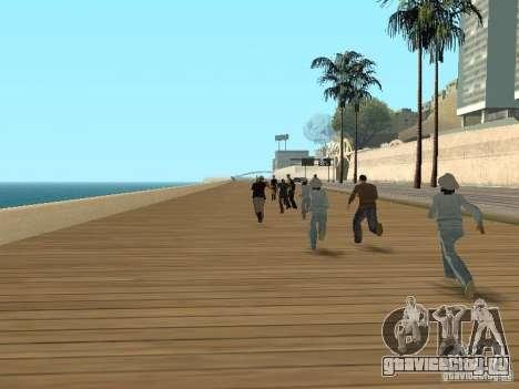 Трусливые копы для GTA San Andreas второй скриншот