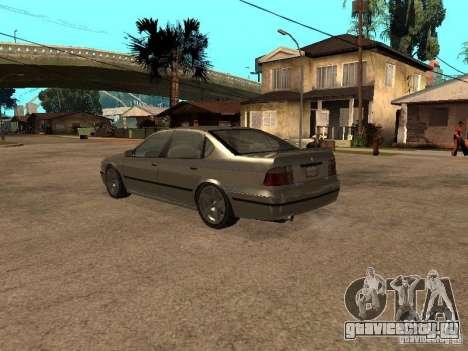 Merit из Gta 4 для GTA San Andreas вид сзади слева