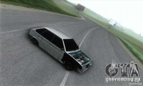 Ваз 2109 Бродяга для GTA San Andreas вид слева
