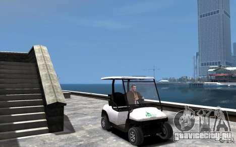 Caddy To IV для GTA 4 вид сзади