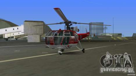 IAR 316B Alouette III SMURD для GTA Vice City вид слева