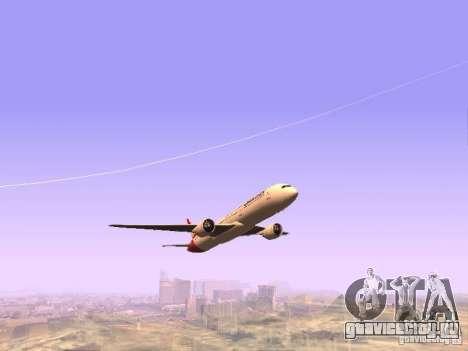 Boeing 787 Dreamliner Qantas для GTA San Andreas вид сзади