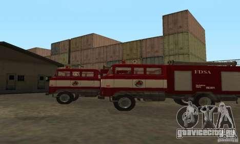 IFA Пожарная для GTA San Andreas вид сзади слева