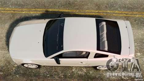 Ford Mustang GT 2005 для GTA 4 вид справа