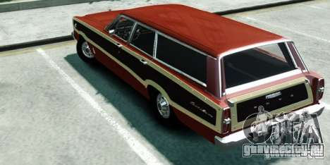 Ford Country Squire для GTA 4 вид слева