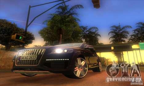 ENB Graphics by KINOman для GTA San Andreas третий скриншот