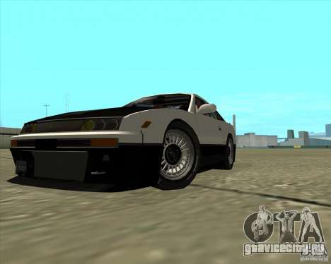 Nissan Silvia S13 streets phenomenon для GTA San Andreas вид сзади