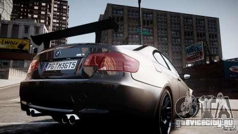 BMW M3 GT-S V.1.0 для GTA 4 вид изнутри