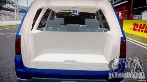 Lincoln Navigator 2004 для GTA 4 вид снизу
