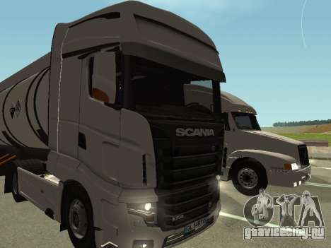 Scania R700 Euro 6 для GTA San Andreas вид сзади