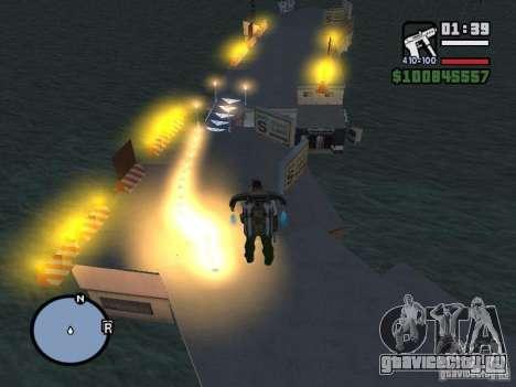 Night moto track для GTA San Andreas шестой скриншот