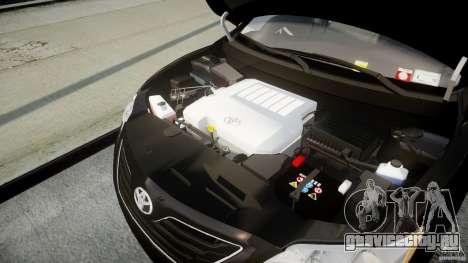 Toyota Camry 2007 (XV40) v1.0 для GTA 4 вид сзади