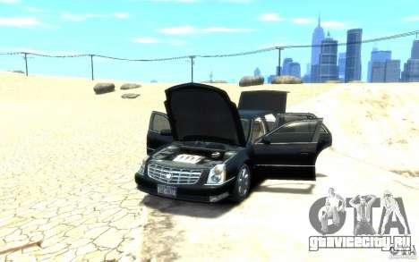 Cadillac DTS v 2.0 для GTA 4 вид сзади