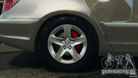 Honda Acura RL для GTA 4 вид сбоку