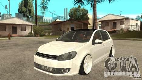 Volkswagen Golf VI 2010 Stance Nation для GTA San Andreas