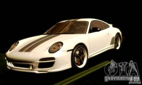 Porsche 911 Sport Classic для GTA San Andreas вид сзади слева