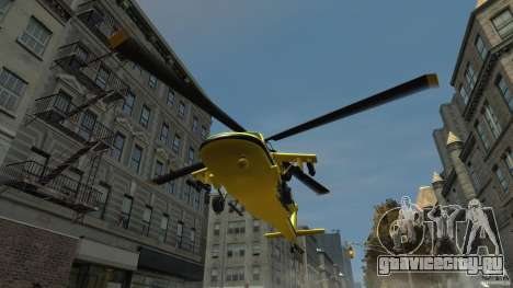 Yellow Annihilator для GTA 4 вид изнутри