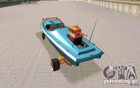 Hot-Boat-Rot для GTA San Andreas вид сзади слева