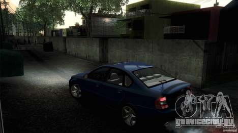 Subaru Legacy B4 3.0R specB для GTA San Andreas вид сзади