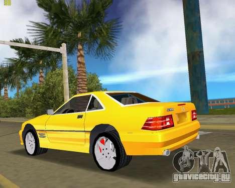 Mercedes-Benz SL600 1999 для GTA Vice City вид сзади слева