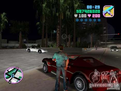 Phobos VT из Gta Liberty City Stories для GTA Vice City вид сзади слева